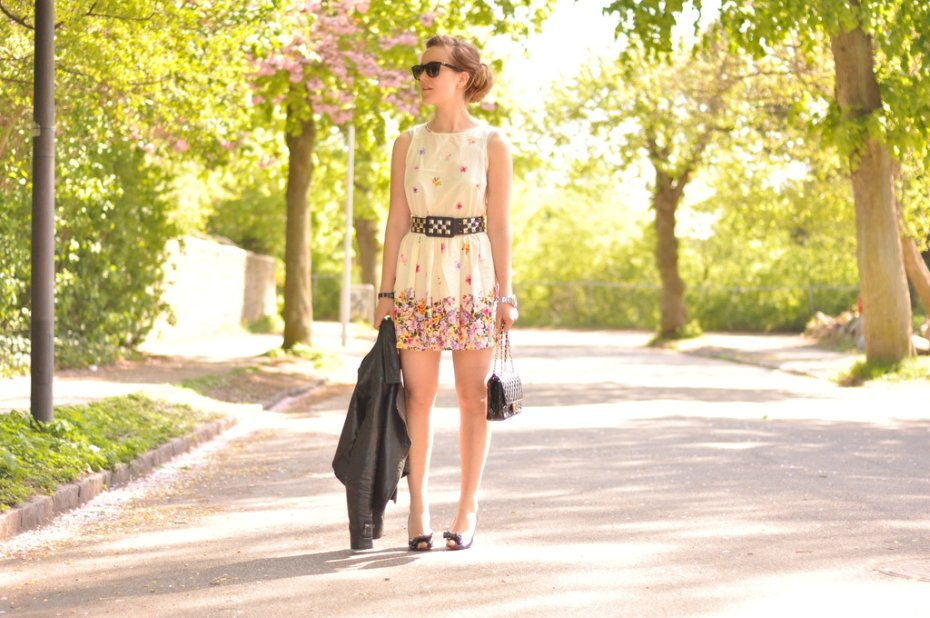 Look of the day: spring - Emily Salomon