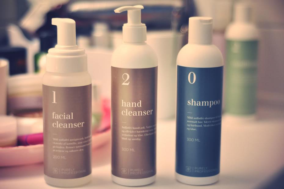 test af hårshampoo