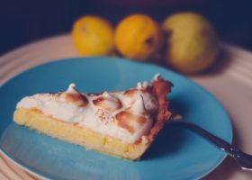 Tarte au citron/ citrontærte med marengs