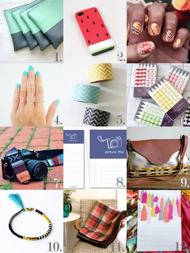 Etsy mønster og farver