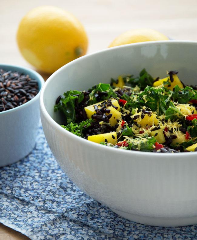 salat-med-ris