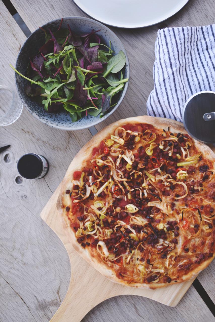 pizza fra pizzamanden