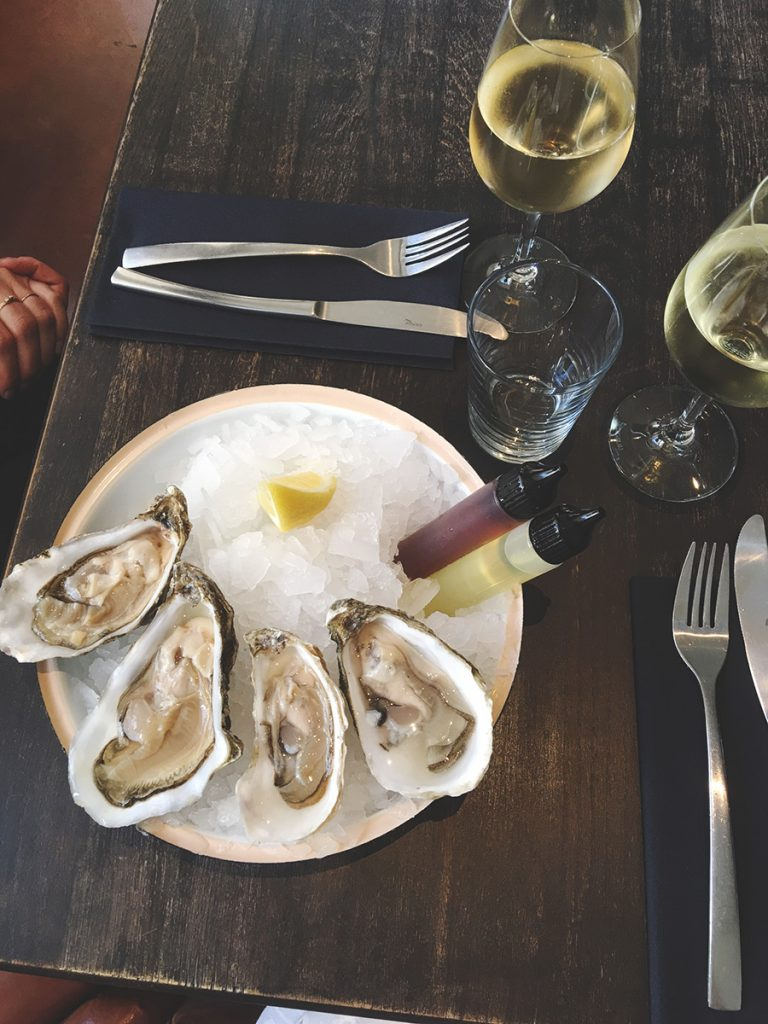 mulsing oysters