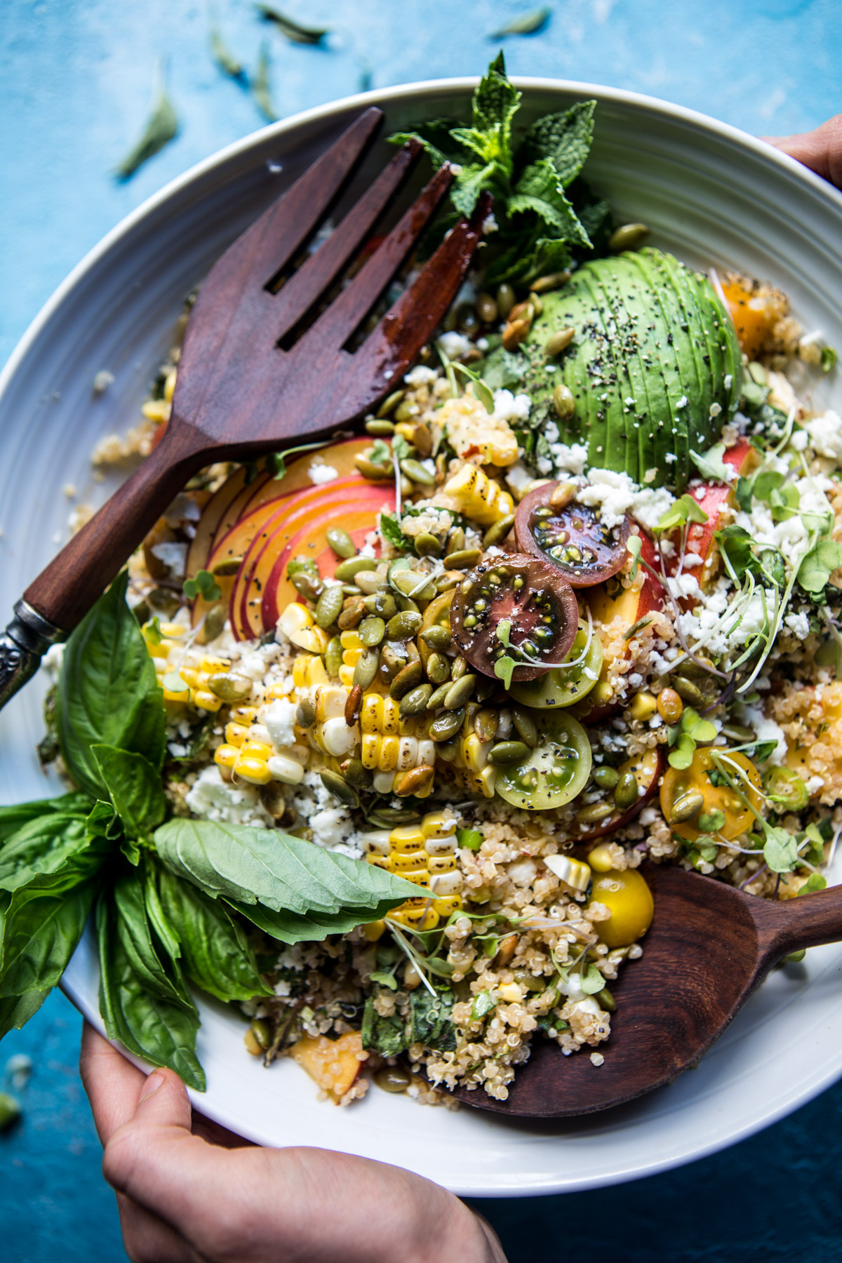 Thai-Grilled-Corn-and-Peach-Quinoa-Salad-1
