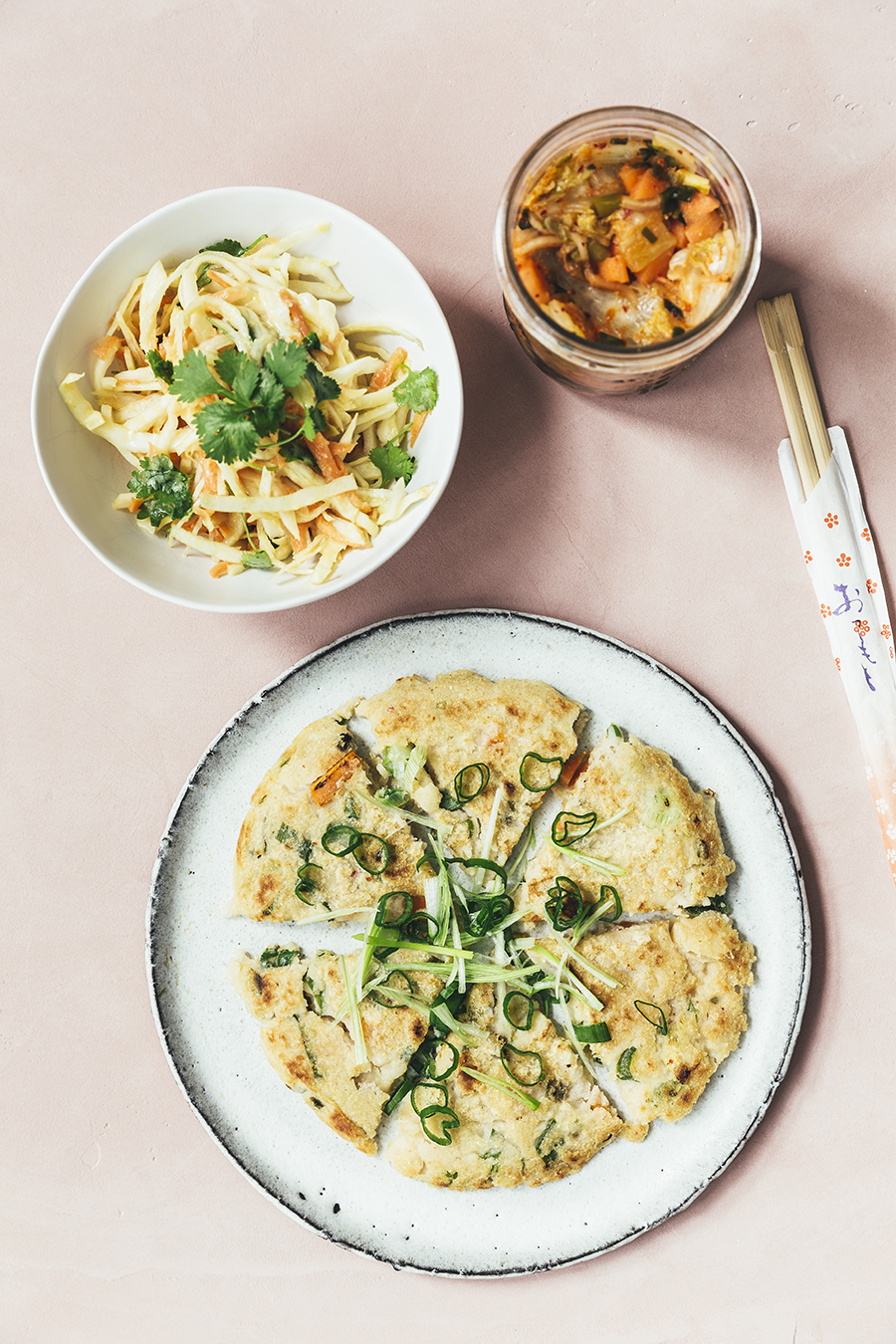 kimchi-pandekage