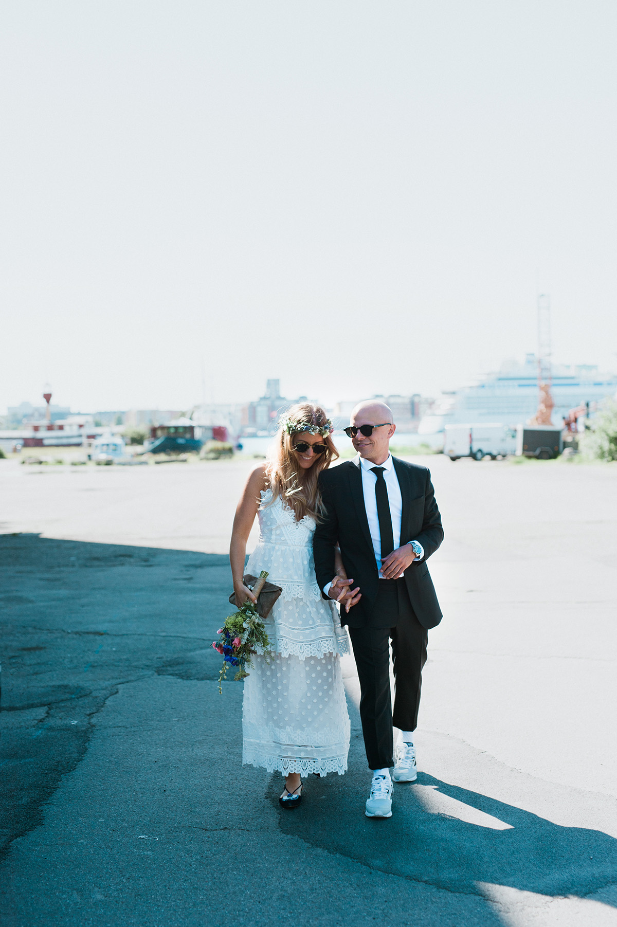 76b41265d307 Det er vores bryllupsdag. Og i går havde vi således været gift i et år. Et  helt år.