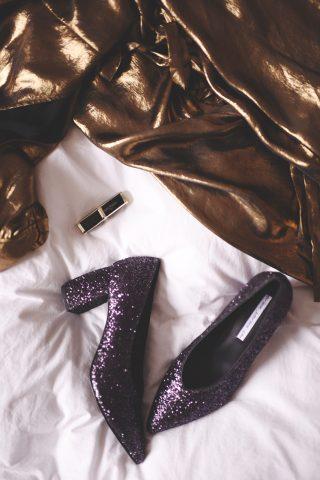 e60456f5f22 Kjole og sko til nytår