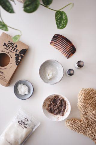 DIY skønhedsprodukter med sheasmør