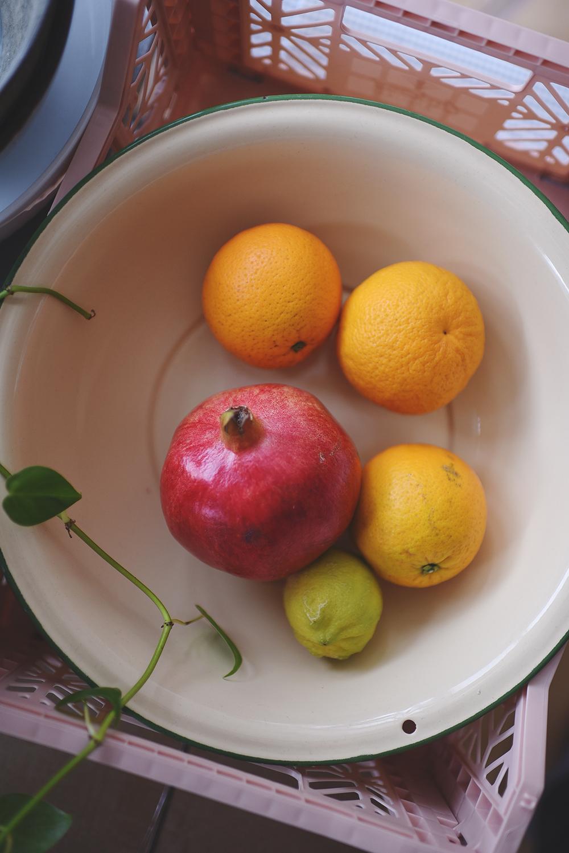 zinkbalje med frugt