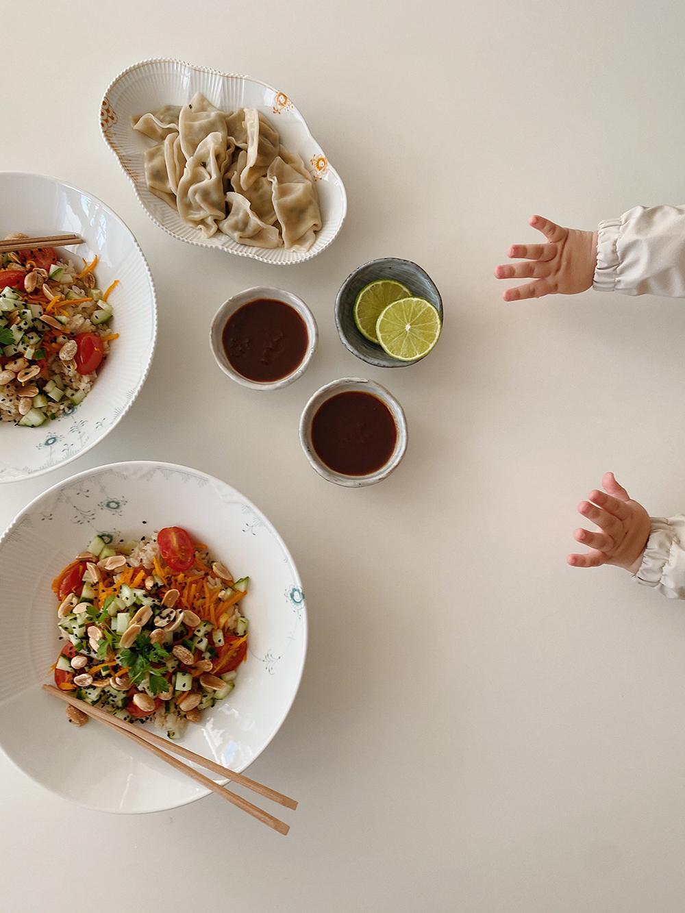 aftensmad børnefingre